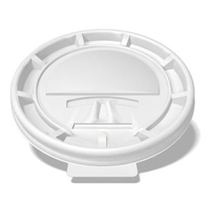 white tear-back lid for custom printed compostable paper cup