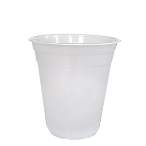 Custom-printed-frosted-plastic-cup-12oz